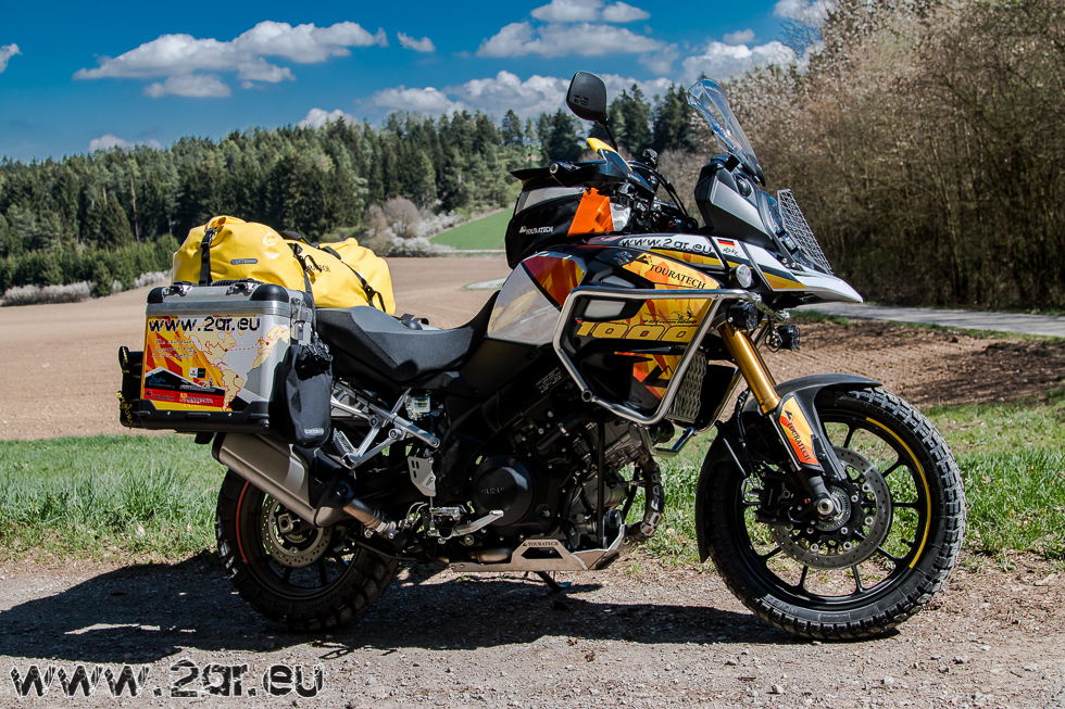 v-strom 1000 & touratech – a motorcycle adventures on behalf of